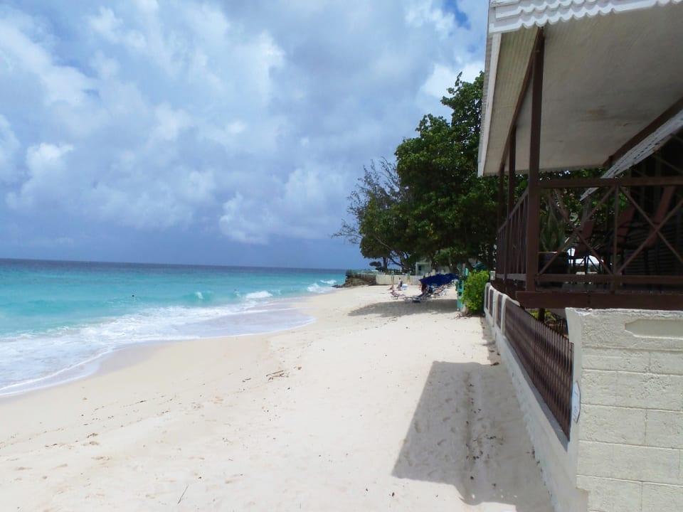 Western view of beach