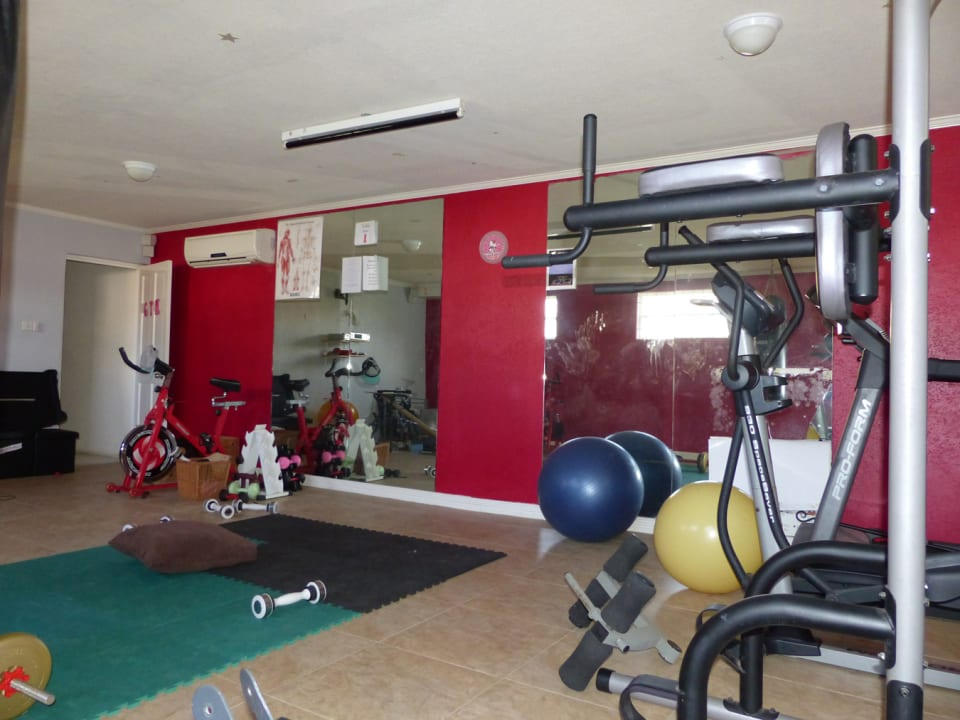 Gym Area on Lower Level