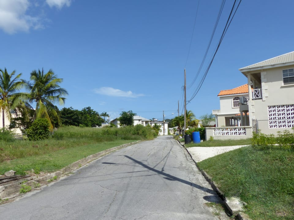 Road View - Lot on Left