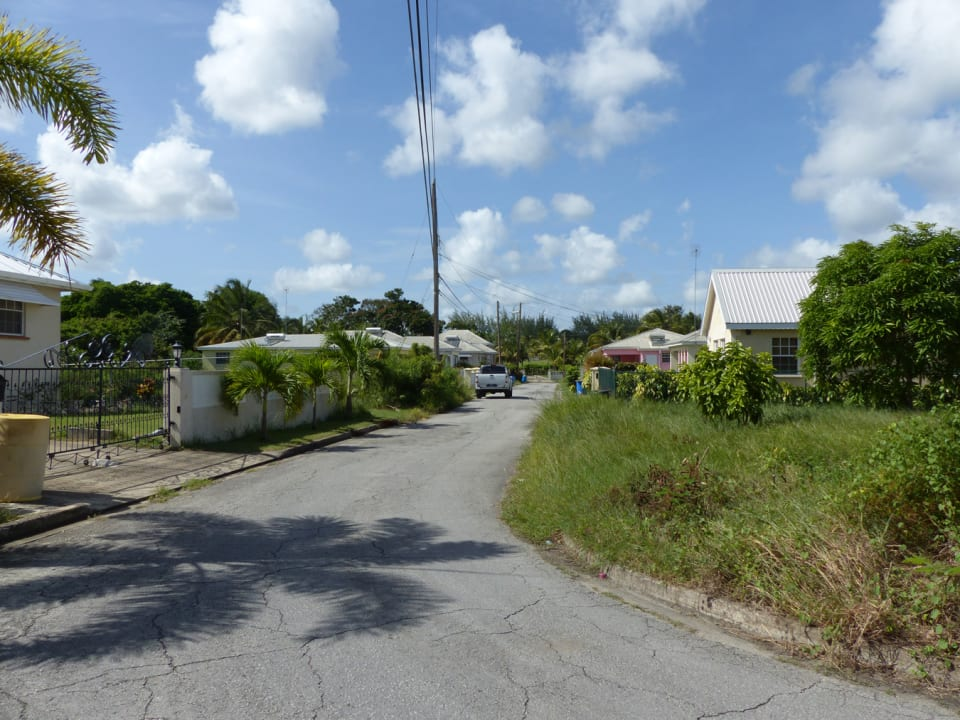 Road View - Corner of Lot on the right