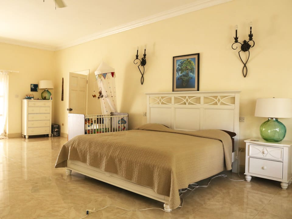 A section of the Master Bedroom