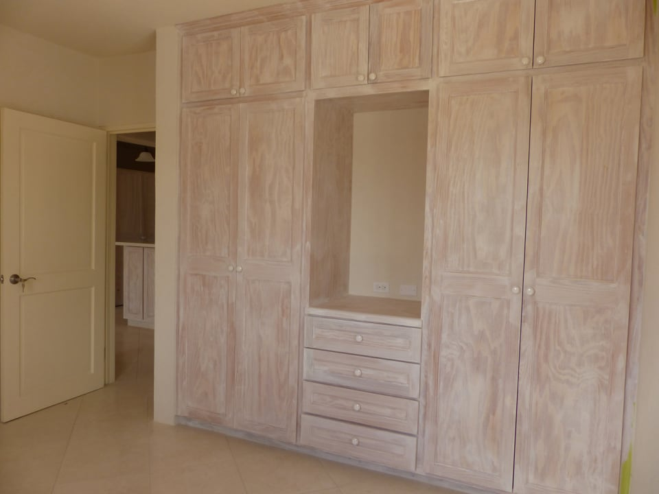 Cupboards in the Bedroom