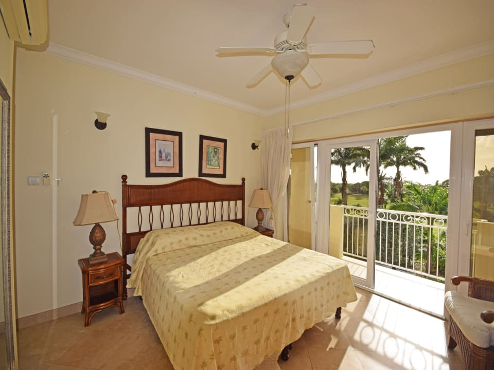 Spacious Master Bedroom with Views