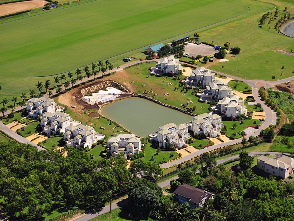 Aerial View of Polo Villas
