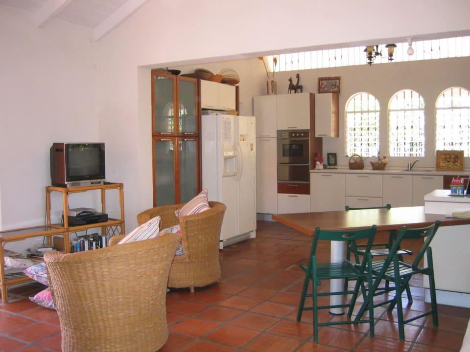 Sitting Area in Kitchen
