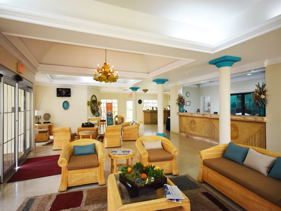 Lounge and Reception area
