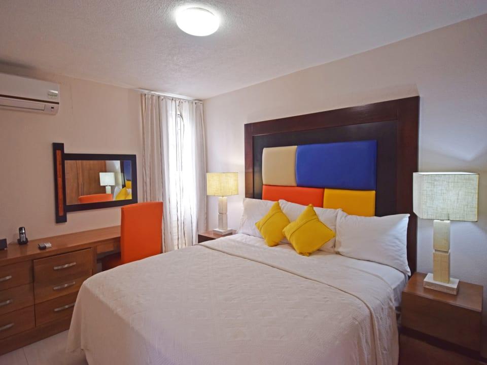 Bedroom of a Suite