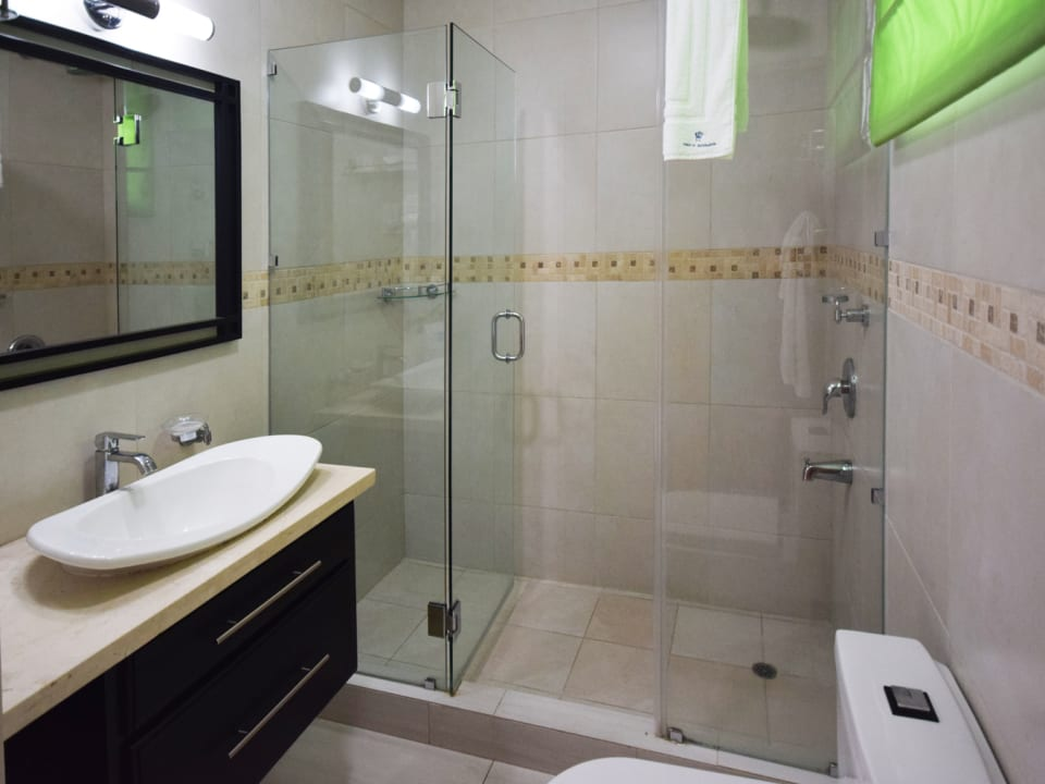 Modern Bathroom of a Suite