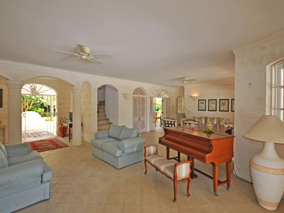 Elegant and Spacious Barbados Living Area