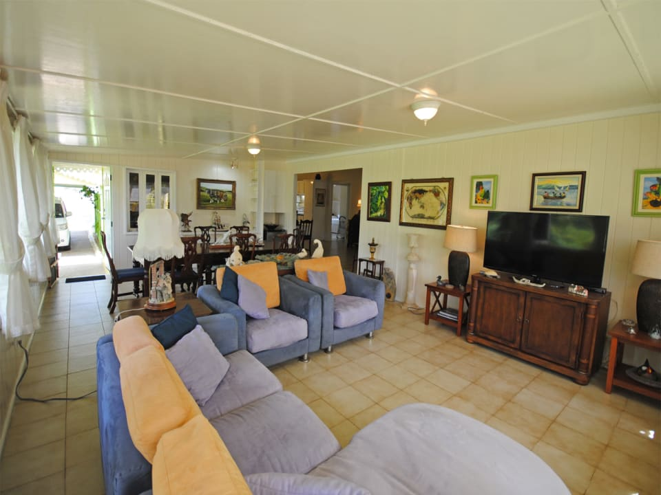Living and TV room