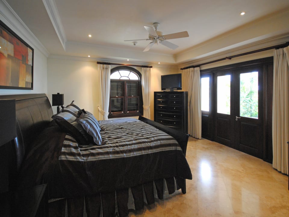 Master bedroom opens to terrace