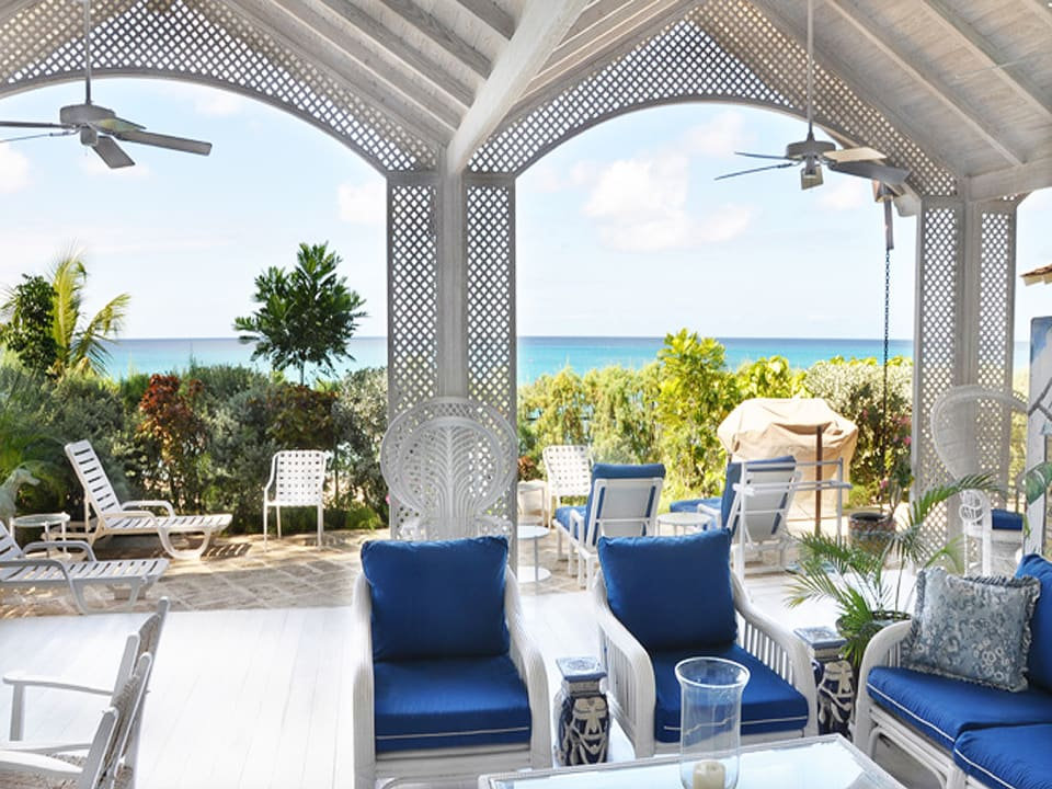 Beach verandah
