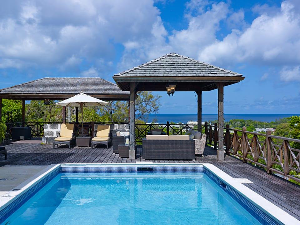 Stunning sea views from this villa