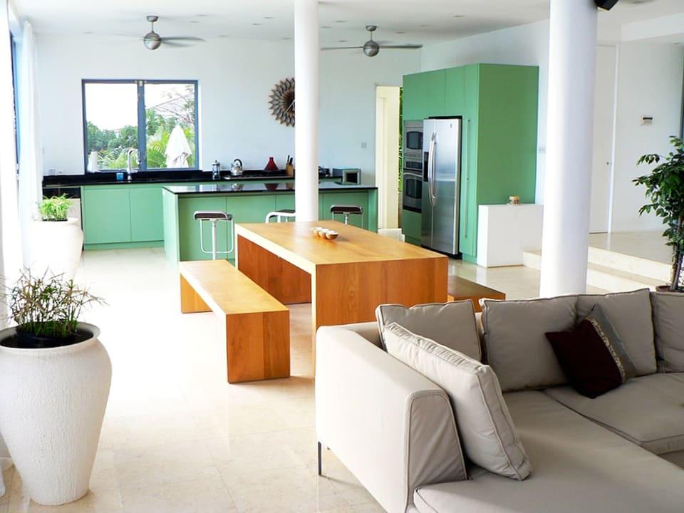 Modern, open plan living areas