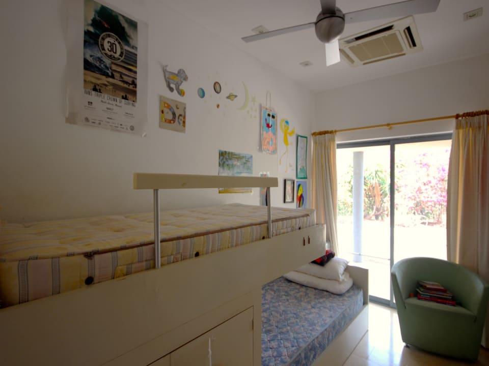 Bunk beds in children's room