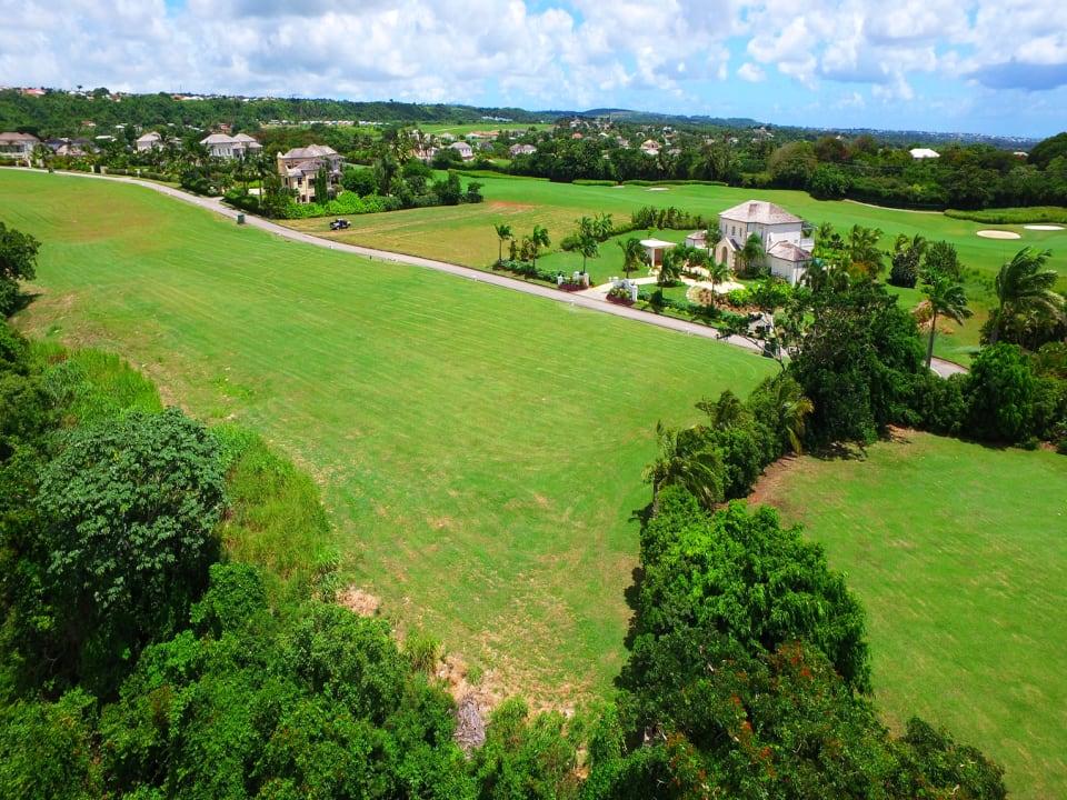 Aerial shot of Lot 18