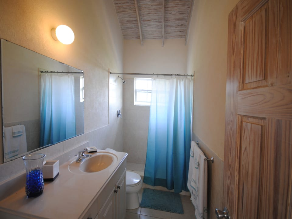 Bathroom on first floor