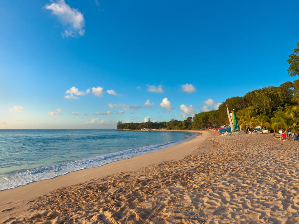 Beach at Sandy Lane