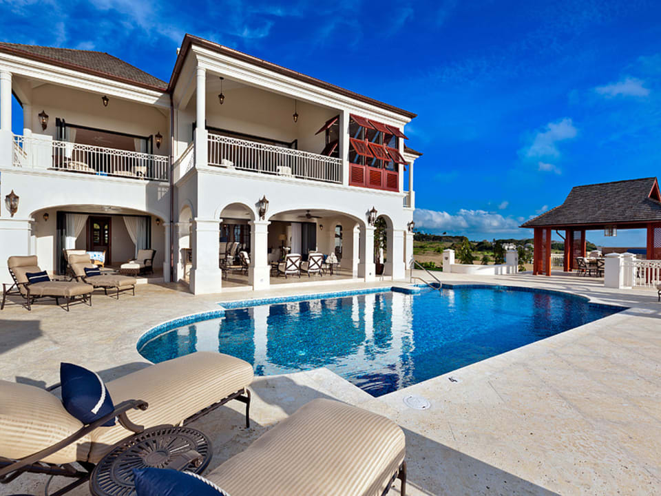 Pool Deck and Lounge Area