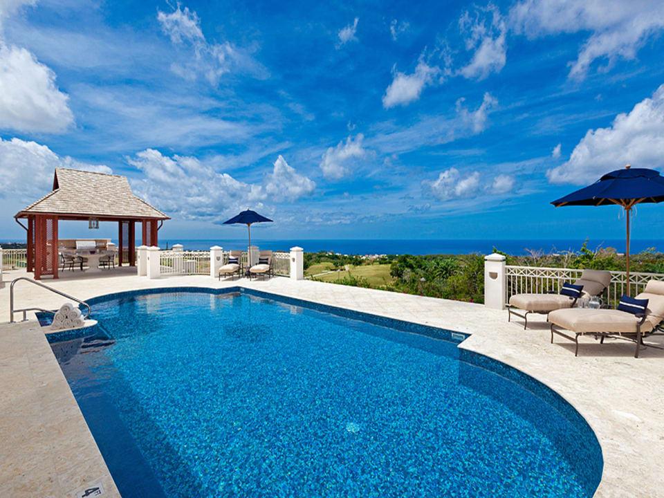 View of Pool and Ocean Beyond