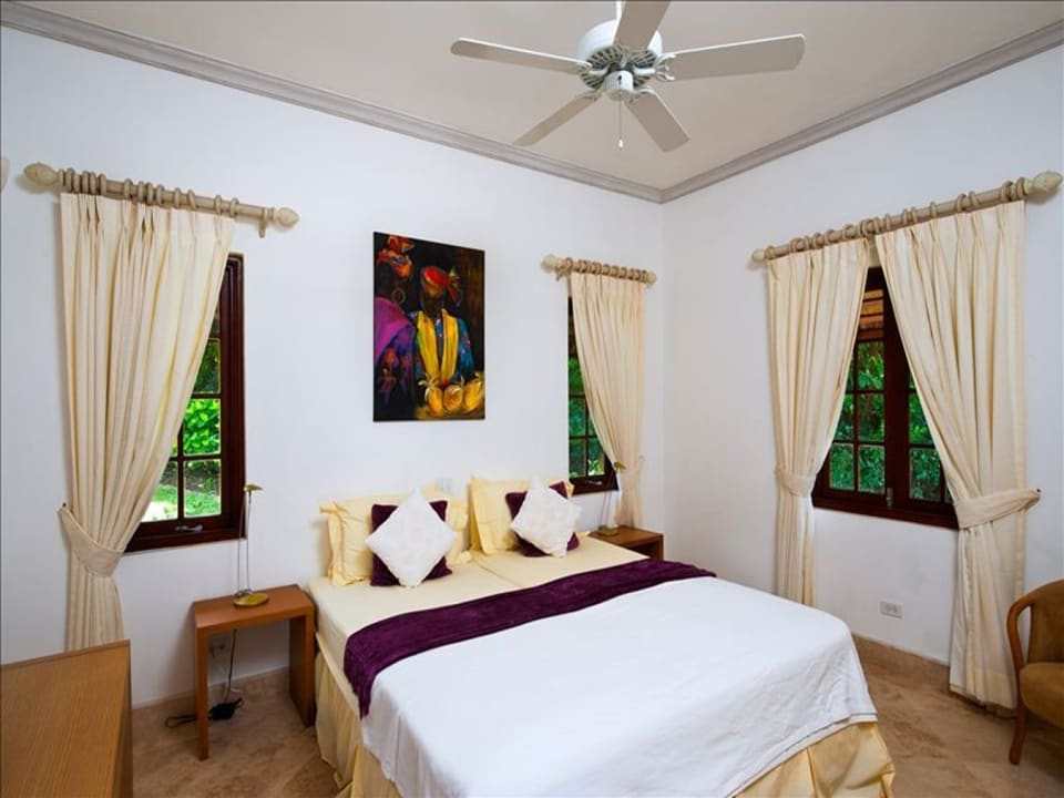 One of the Bedrooms in cottage