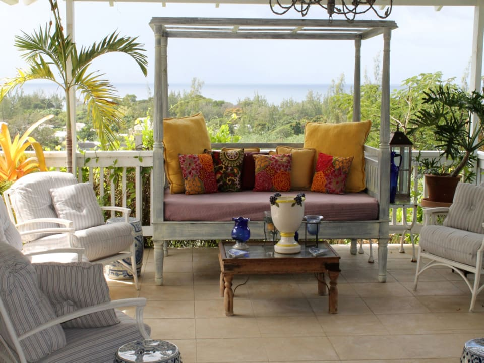 Patio with Ocean View
