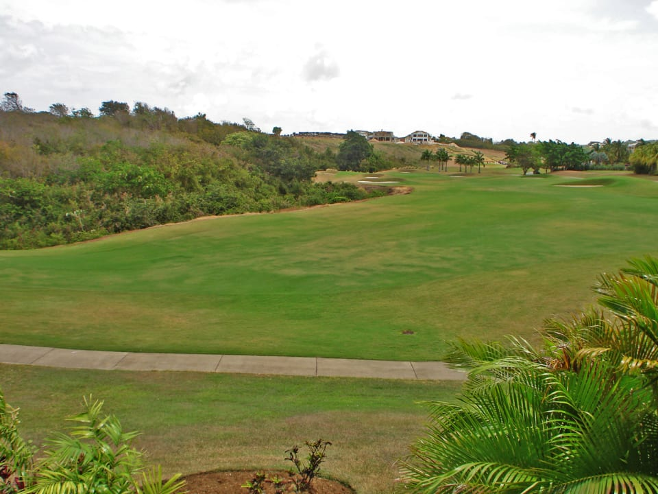 Beautiful fairway views from the patio