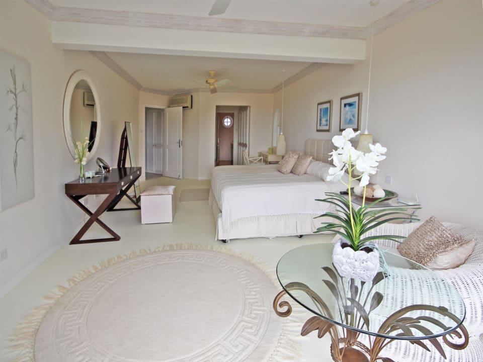 Master suite from garden