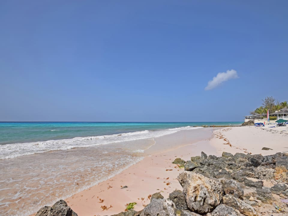 Amazing beach in front of the property