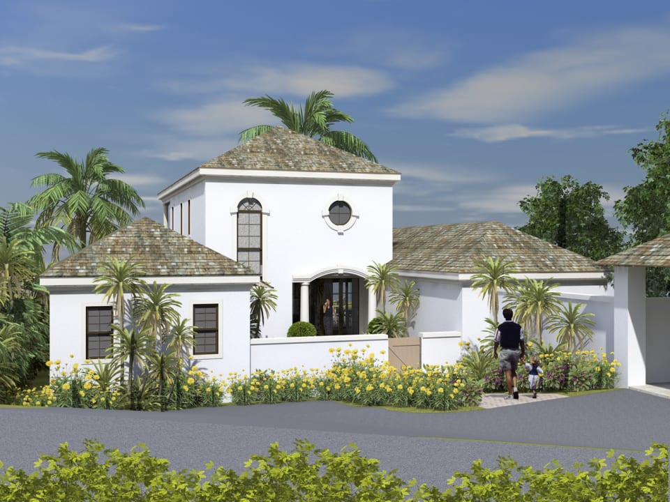 Grand Fairway Villa Entry