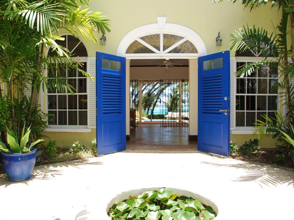 Main house entrance