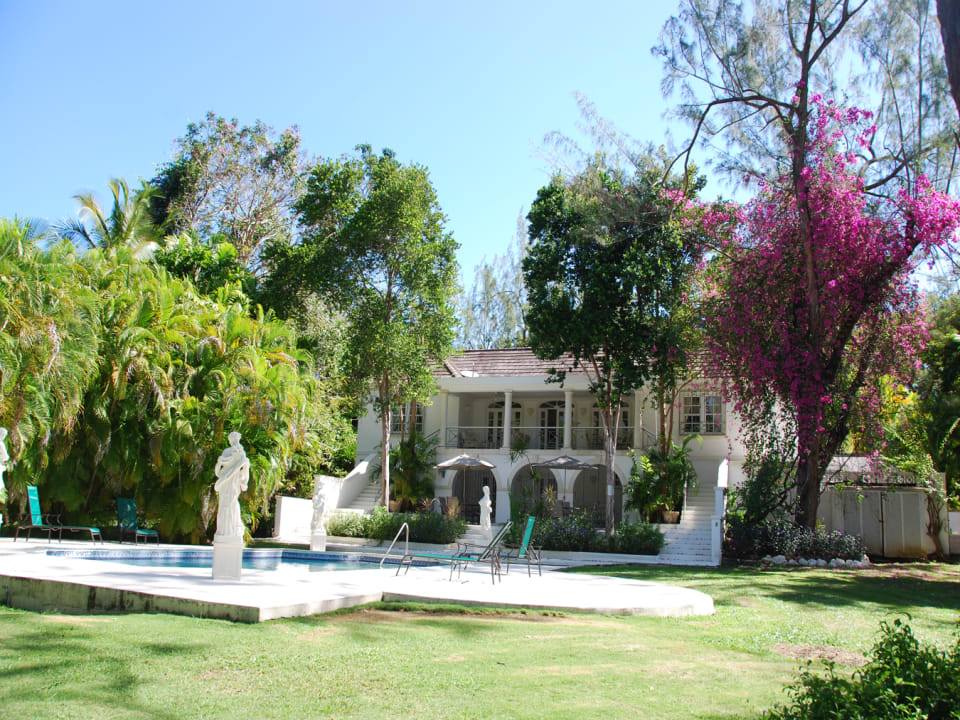 View of property from the garden
