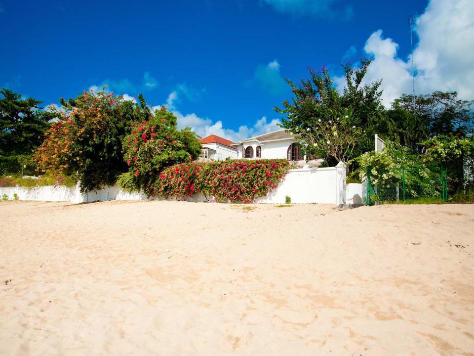 Wide sandy beach