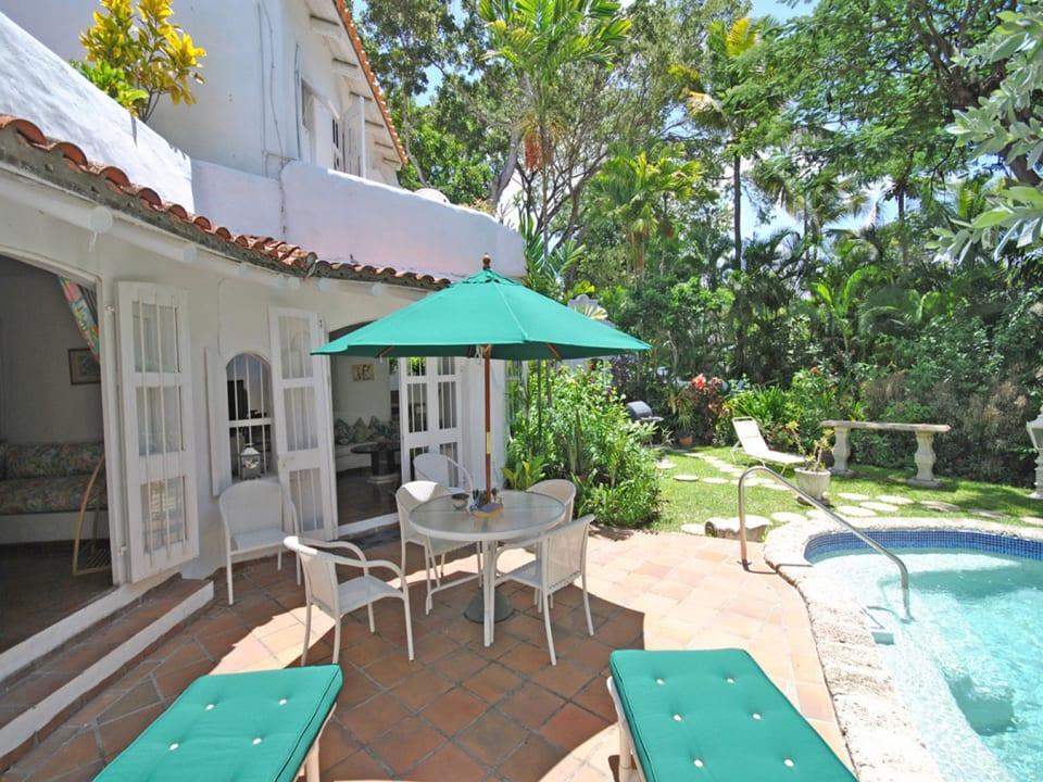Secret Garden pool terrace
