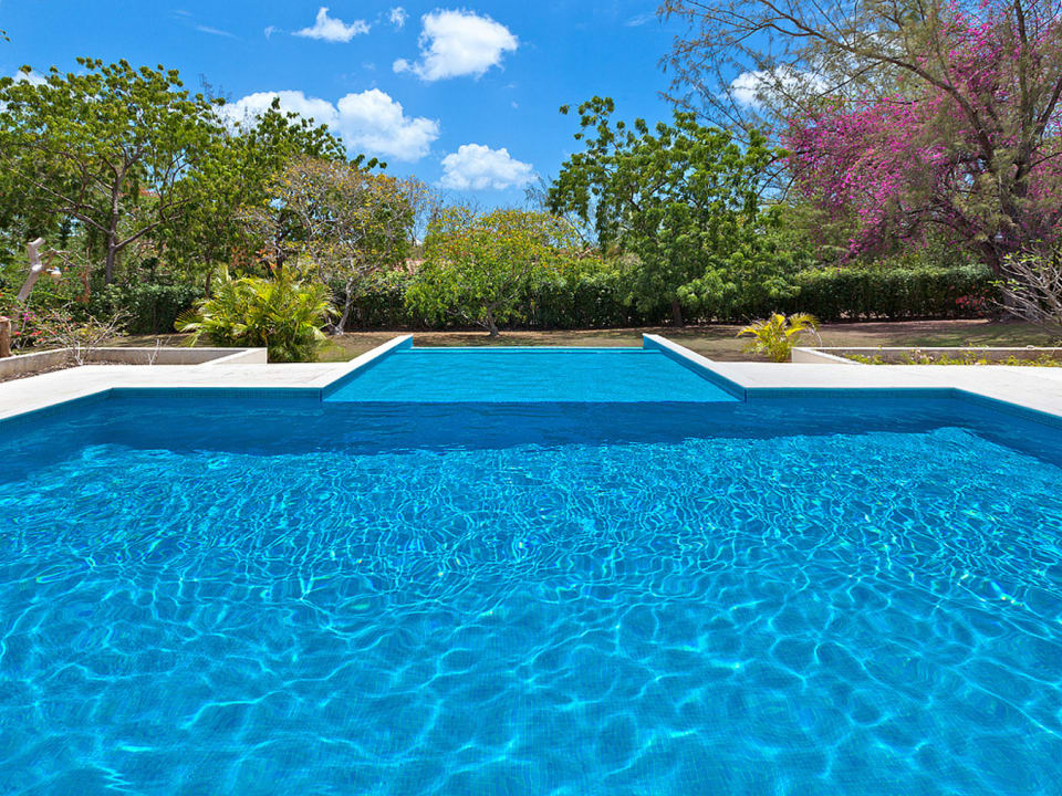 Swimming pool and beautiful gardens
