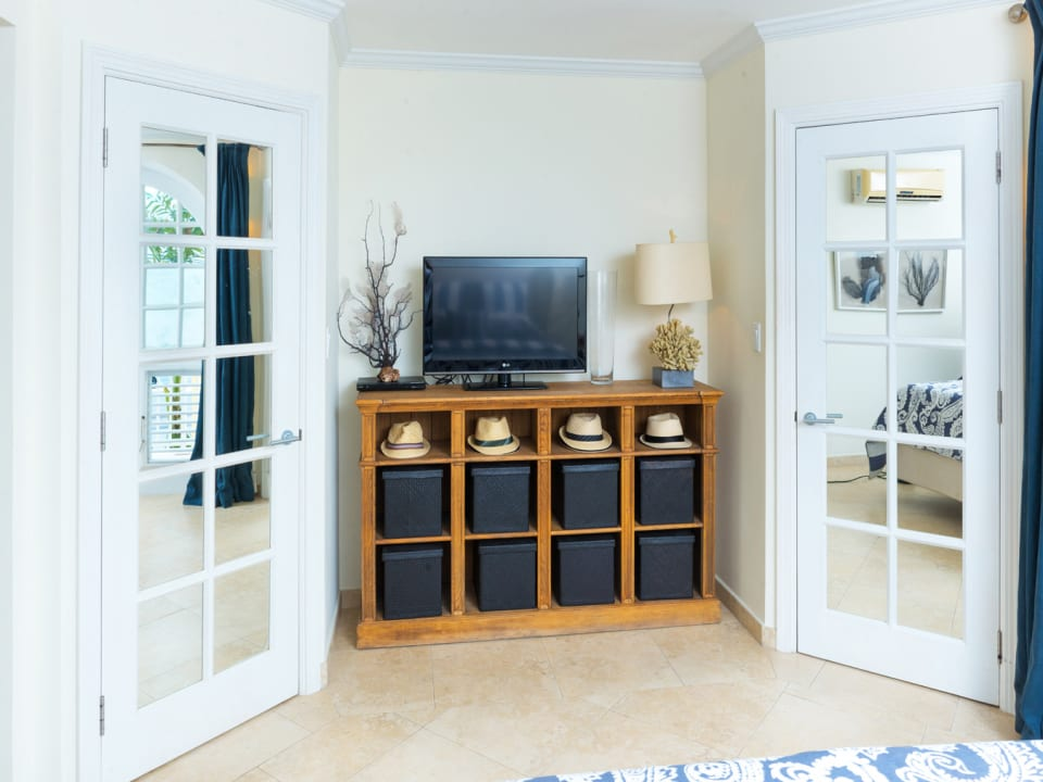 Master bedroom with Walk in closets
