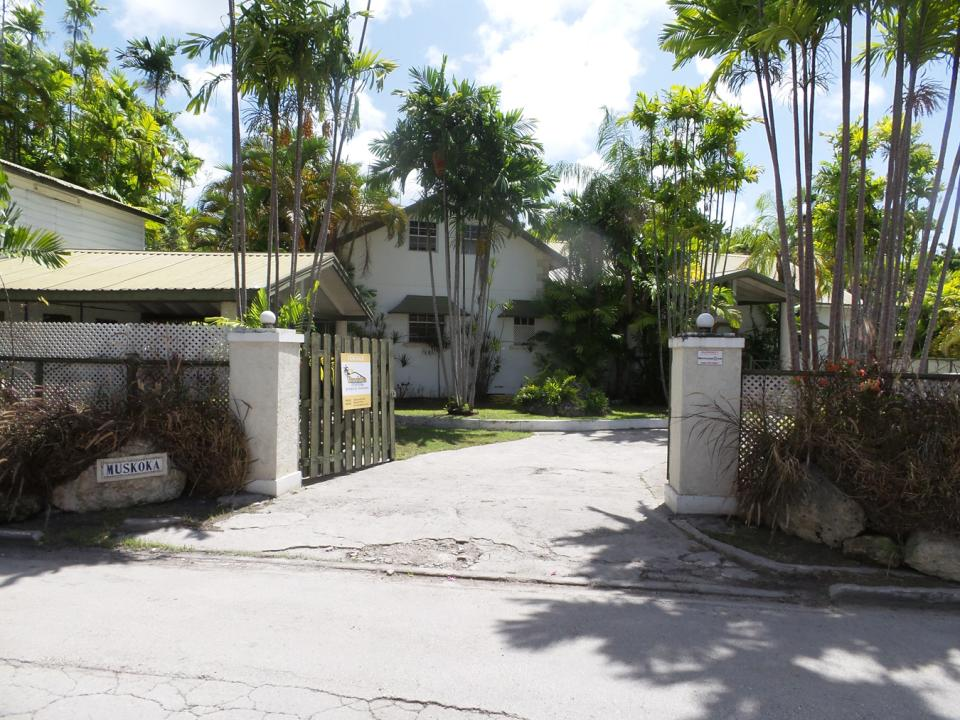MAIN ENTRANCE TO HOME