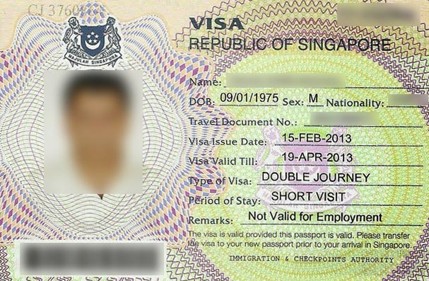 singapore russia visa - Singapore Visa Covering Letter Sample