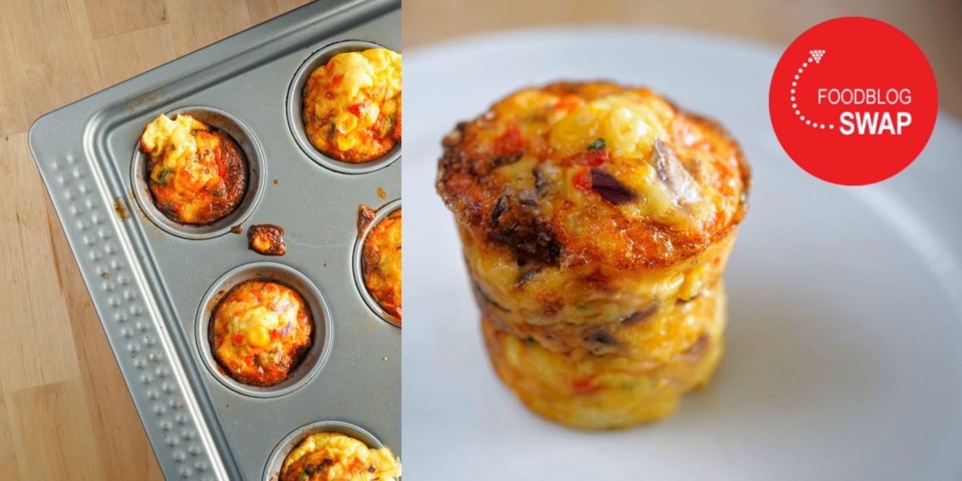 Foodblogswap - Salsa eimuffins
