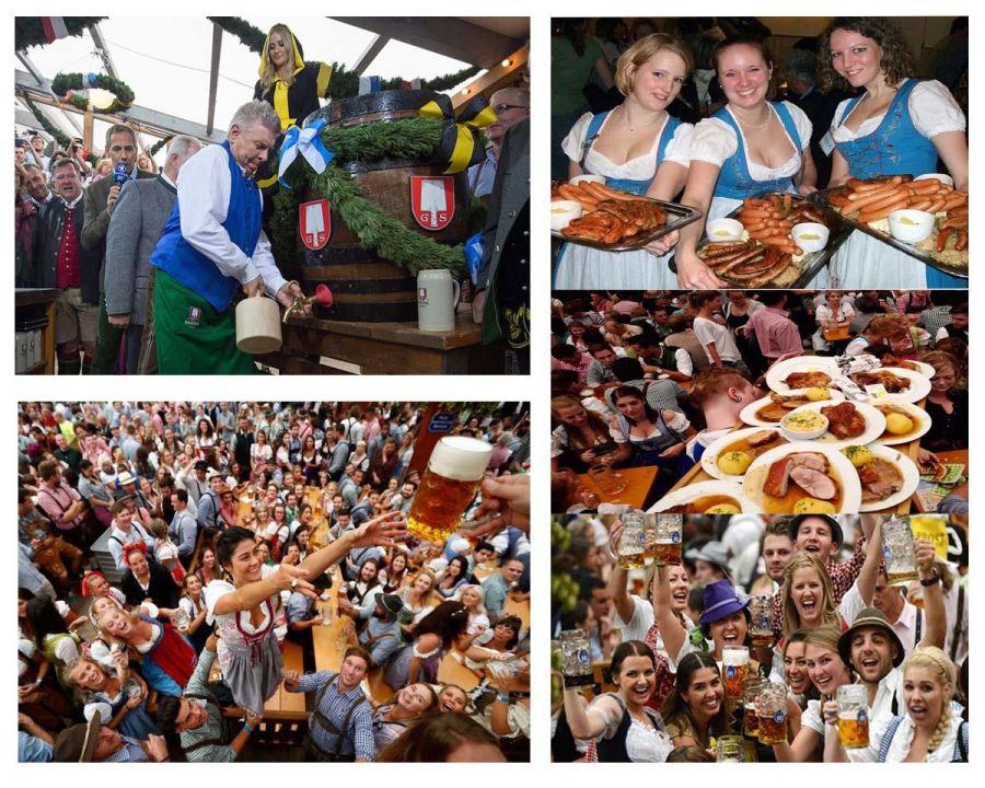 Đến Bavaria thưởng thức lễ hội bia Oktoberfest