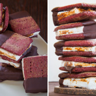 Red Velvet S'Mores with Cream Cheese Marshmallows