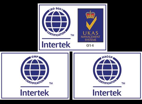ISO 9001:2008, HACCP & GMP CERTIFICATE