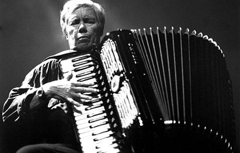 Performance by Pauline Oliveros