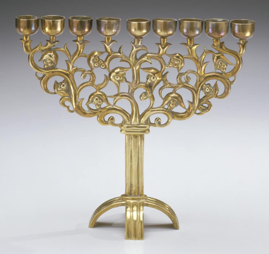 The Jewish Museum - Collection - Hanukkah Lamp