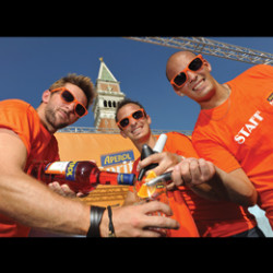Enjoy the festivities of Brighton Fringe at the Aperol Spritz Social
