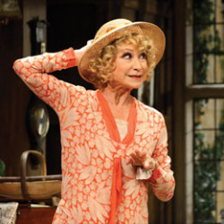 Felicity Kendal in the classic Noël Coward comedy Hay Fever at Theatre Royal Brighton