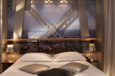 Eiffel Tower at Hotel Design Secret De Paris