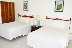 Deluxe - 2 Double Beds at Oualie Beach Resort