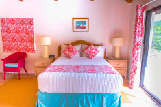 Mountain View Room - Queen Bed at The Mount Nevis Hotel