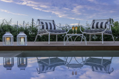 Two Bedroom Suite with private pool at  Avaton Luxury Villas Resort - Relais & Chateaux